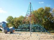 Jeu corde pyramide - Hauteur comprise entre 2 et 10 m
