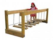Jeu d'équilibre pont suspendu - Norme EN 1176 / de 3 à 12 ans