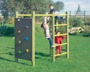 Jeu d'escalade en bois pour enfants