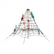 Jeu d'escalade pour enfants en nylon tressé - Dimensions (L x l ) mm : 6606 x 6606 - 9348 x 9348