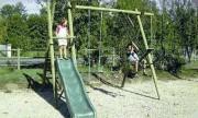 Jeu d'extérieur pour enfants - Longueur hors tout : 3.64 m - Hauteur de la poutre : 2.50 m