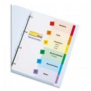 Jeu d'intercalaires numériques 12 positions pour imprimante Ready Index - Avery