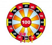 Jeu de fléchettes pour amateur - Diamètre cible (cm) : 30