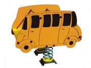 Jeu sur ressort bus - Norme EN 1176 / de 1 à 12 ans