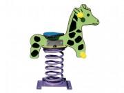 Jeu sur ressort girafe - Pour les enfants de 1 à 12 ans