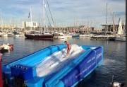 Jeux aquatique gonflable