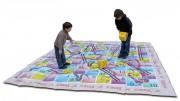 Jeux de société géants pour enfants - Dimensions (L x l) m : 3 x 3