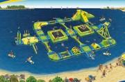 Jeux gonflables aquatiques - Infinité d'activités sportives dans l'eau et sur l'eau