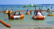 Jeux gonflables aquatiques pour enfants - Grande résistance à la déchirure et rayons UV