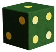 Jeux plein air en caoutchouc - Dimensions (mm) : 460 x 460 x 460