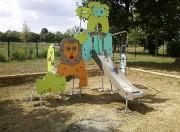 Jeux plein air enfant - Fabriqué en bois, métal ou inox