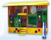 Jeux pour enfants avec poutres gonflable - Capacité de 15 à 20 enfants selon la taille