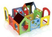 Jeux structure labyrinthe