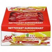 JEX Professionnel 100 doses de nettoyant surodorant parfum agrumes - Jex