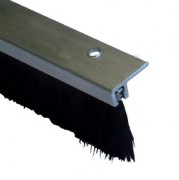 Joint brosse bas de porte aluminium - Existe en hauteur de 30 et 40 mm