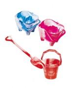 Jouets de plage en plastique pour enfants - 2 modèles Seaux : Jumbo - Starter