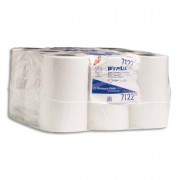 KIMBERLY Lot de 12 mini bobines à dévidage central blanche Essuie Tout WYPALL - Kimberly-Clark Professional