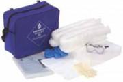 Kit absorbant pour hydrocarbures - Capacité (L) : 15 - 30