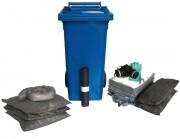 Kit absorbants 125 litres - Kit absorbants universel, pour hydrocarbures ou produits chimiques