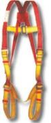 Kit anti chute pour chantier - Harnais entièrement ajustable + Longe