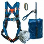 Kit antichute accès vertical - Longueur de Corde (m) : 10 - 15 - 20
