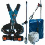 Kit antichute pour élagueur - Longueur corde : 20 - 30 - 40 (Diamètre : 14 mm)