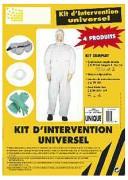 Kit d'intervention universel pour protection individuelle - Kit de protection universel