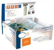 Kit de filtration d'eau - Capacité d'absorption d'eau maxi : 0.13 - 0.39 L