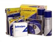 Kit de nettoyage multi usages - Pour toutes surfaces bureautiques et informatiques