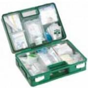 Kit de premiers secours - Contenu du kit : désinfectant -  bandages - patchs - gants