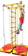 Kit espalier de gymnastique enfant - Hauteur réglable (cm) : 2,40 - 2,90