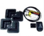 Kit fixation pour panneau solaire - 4 m de câbles - 4 coins