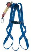 Kit harnais de sécurité 1 point - Avec enrouleur à rappel automatique - Sangle de 2.5 m