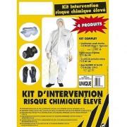 Kit individuel de protection chimique - Kit risque chimique