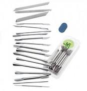 Kit outils de cuisine - 18 outils de décoration