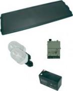 kit panneau solaire 12w - 084933-62