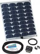 kit panneau solaire flexible 45w - 110263-62