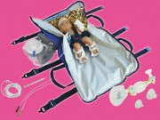 Kit pédiatrique pour ambulance - Avec ou sans aspirateur de mucosités