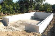 Kit piscine complet liner rectangulaire - Dimensions disponibles : 7x3,5m , 8,4m, 9x4,5m, 10x5m, 11x5m, 12x6m