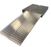 Kit plateforme amovible - Capacité de charge : 300kg   -   Aluminium