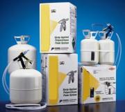 Kit portable de mousse polyuréthane - Rendement (m3) : 0.40 ou 1.40