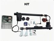 Kit pour automatisme portail - Pour portail pivotant ou coulissant