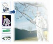 Kit protection phytosanitaire - Norme EN 149-5 / EN 1073-2 / catégorie 3 types 5/6