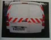 Kit ruban adhésif pour véhicules - 2 rouleaux (1 droite + 1 gauche)