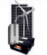 Kit solaire hybride 360w 220v - Puissance CA maximale : 3000 W en pointe
