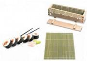 Kit sushi maki - En bambou naturel