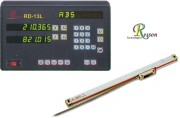 Kit visualisateur de cotes 2 axes pour tours - Alimentation électrique incorporée 110/220 volts