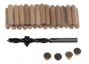 Kits assemblage bois - Diamètres (mm) : 6 - 8 - 11