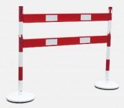 Kits de barrières et poteaux en acier - Dimensions (L x H) mm : 1200 x 1000