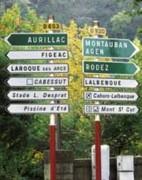 La signalisation routière - Panneaux signalitiques rotières de ville
